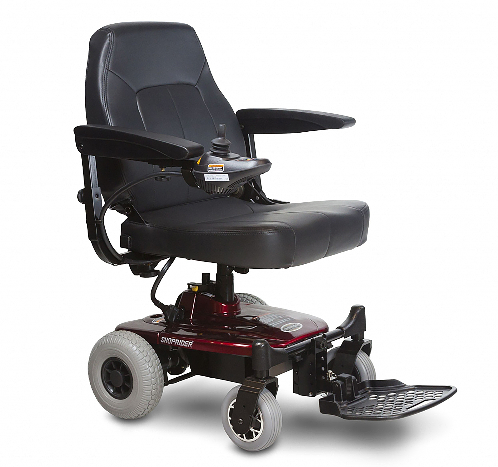 Shoprider Jimmie Powerchair w/Captain Seat 4-Wheel Rear Drive Lightweight - 250lbs